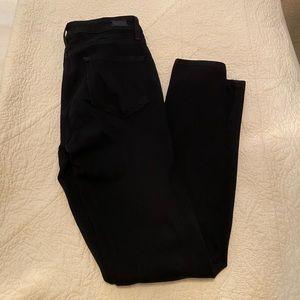 Paige black verdugo skinny jeans